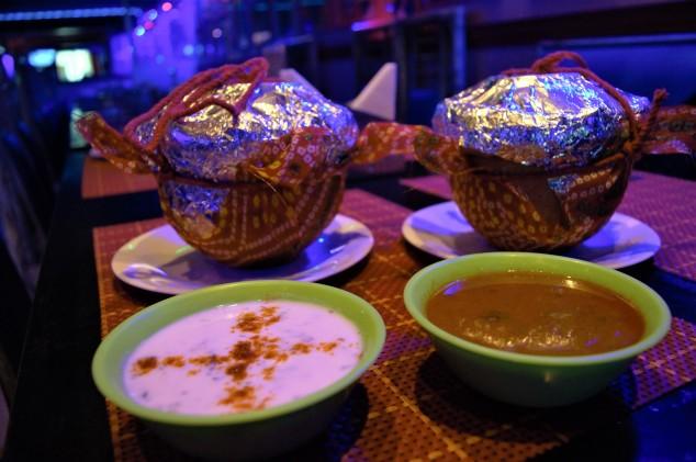 Pakistani biryani at Deez Cafe